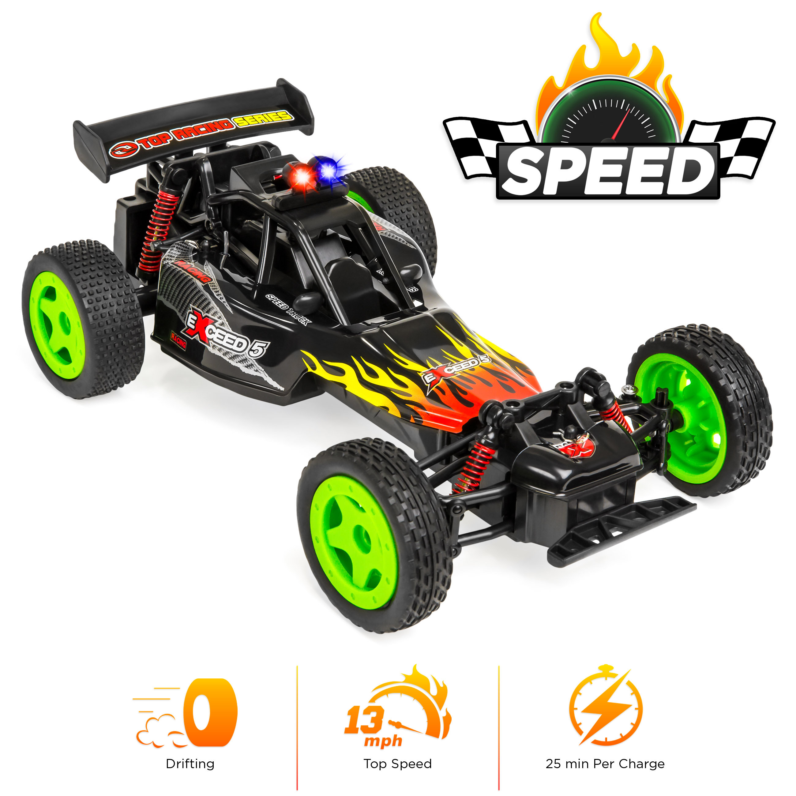 High Speed RC Racing Radio Remote control Car Top Speed 13 mph drifting Car