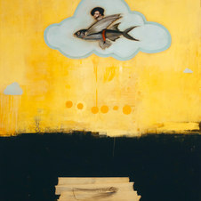 Ibn Battuta, 2021 Oil on canvas 44.8 x 57.5 MML 1071