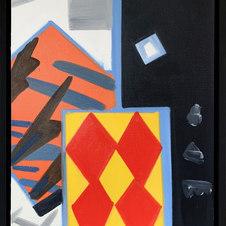 "Small Paumanok No. 4 Oil on canvas 24 x 18"" GBT 1009"