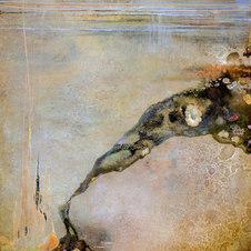 "Permanence XX Oil on canvas 48 x 48"" JL 1258"
