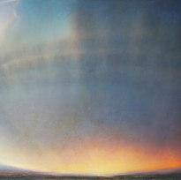 "Koon's Wall Oil on canvas 50 x 71"" LAG 1127"