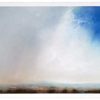 """Morgan County Dry pigment on paper Unframed 22.25"""" x 30"""" LAG 1117"""