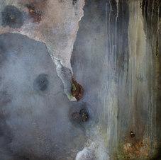 "Permanence IV Oil on canvas 53 x 54 3/4"" JL 1261"