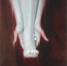 "Waltz Oil on canvas 34 x 28"" SL 1005"