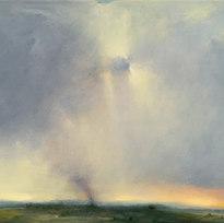 """Confluence Oil on canvas 22.5 x 34"""" LAG 1091"""
