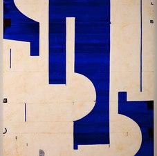"Pietrasanta C10.51 Mixed media on canvas 72 x 52"" CF 1040"