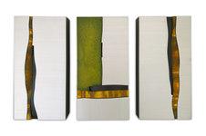 """Bloc 162 Mixed media 16 x 8"""" (3 panels) PP 1072"""