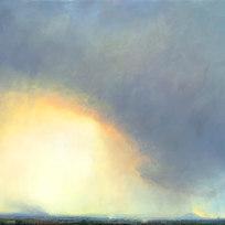 """Alatna Approach Oil on canvas 43 x 63"""" LAG 1125"""