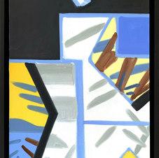 """Small Paumanok #3 Oil on canvas 24 x 18"""" GBT 1008"""