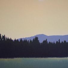"Golden Oil on canvas 16 x 20"" JC 1095"