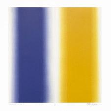 """Encounter. #07-16-16 Unique print. Oil monotype on Rives BFK paper 27.5 x 30.25"""" paper size BM 1005"""