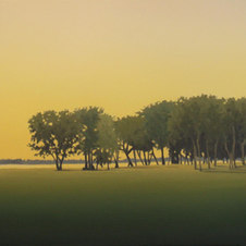 """Fort Fisher Oil on canvas 18 x 24"""" JC 1099"""