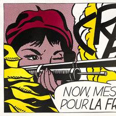 """CRAK!, 1963-64 Offset lithograph  28.75 x 21.25"""" ROL 1019"""