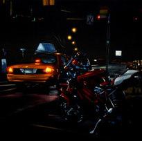 "Night Series No. 73 Oil on canvas 30 x 40"" MXM 1009"