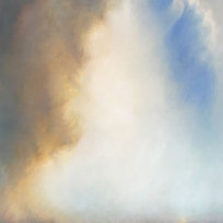 """Snow Creek to Theta Oil on canvas 63 x 50"""" LAG 1133"""