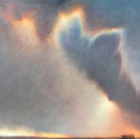 "Prophet Egress Oil on canvas 63"" x 62"" LAG 1132"