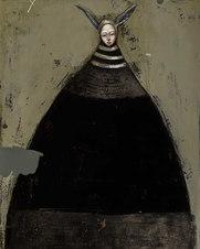 Artemis, oil on canvas, 30 x 24
