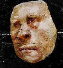 "Ernst Oil on paper 11 x 7.5"""