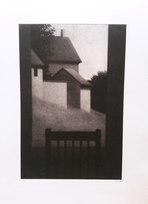 """Window at Dusk, Ed. V/X. AP Mezzotint 14 x 9.375"""""""