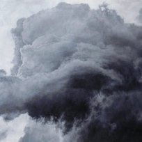 "Suspension (Take 5) Oil on canvas 48 x 72"" PR 1056"