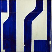 "Pietrasanta P11.26 Mixed media on canvas 65 x 82"" CF 1033"