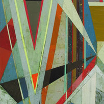 Transitions #3 Acrylic on linen 24 x 18""