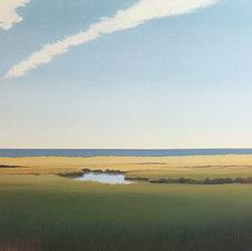 "Drift Oil on canvas 36 x 48"" JC 1104"