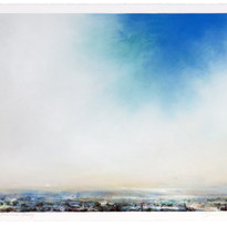"""Cape Girardeau County Dry pigment on paper Unframed, 22.25 x 30"""" LAG 1116."""