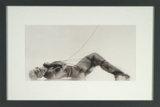 "Blonde Bondage 1/3 Silver gelatin print 16 x 20"" MC 1039"