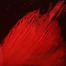 "Origins Acrylic on canvas, 2015 54 x 54"""