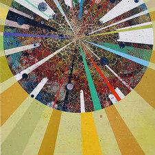 "Fortune Teller Acrylic on canvas 84 x 60"""