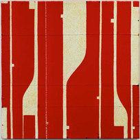 "Pietrasanta C11.46 Mixed media on canvas 20 x 20"" CF 1030"