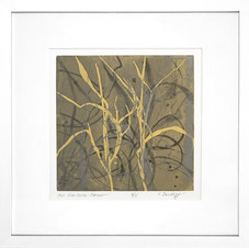 """East Side Suite - Grasses, ed. 8/24 Color etching 22 x 22"""" SD 1027"""