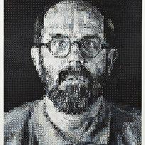 "Self-Portrait 38/50 Silkscreen in 80 colors 67 x 56.5"" CHC 1038"