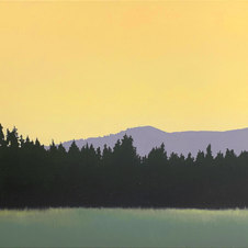 Golden Oil on canvas 16 x 20 in. JC 1095