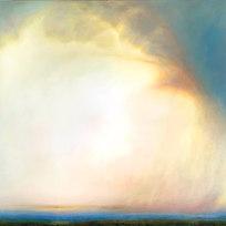 """August 3, 2015 Oil on canvas 43 x 63"""" LAG 1129"""