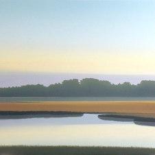 "Estuary Oil on canvas 36 x 48"" JC 1105"