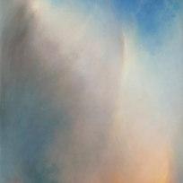"""Katmai Ash Oil on canvas 61 x 39"""" LAG 1134"""