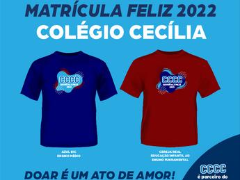 Matrícula Feliz 2022 - Colégio Cecília Caçapava