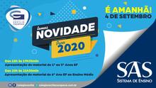 Novidade para 2020 - SAS