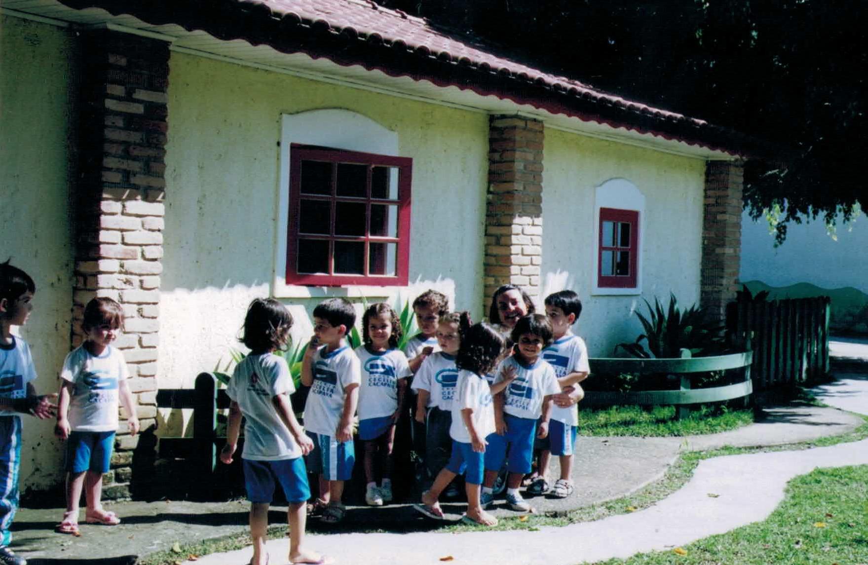 Fotos antigas Colégio Cecília