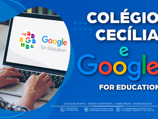 Colégio Cecília e Google for Education