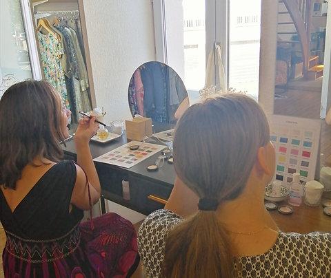 cours de maquillage en duo 2h