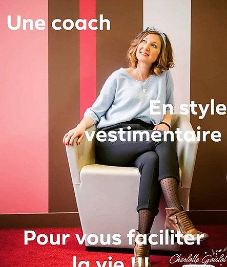Coaching makeup et tri du dressing avec accompagnement shopping à Cholet
