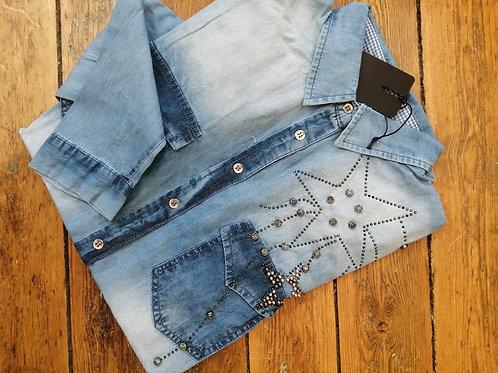 Chemise jeans souple