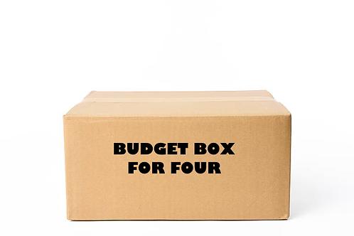 Budget Box for Four