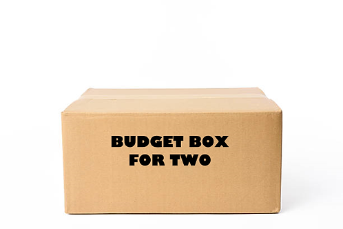 Budget Box for two