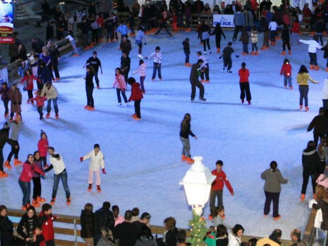 Kalamata ice skating