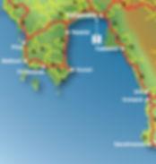 kalamata map