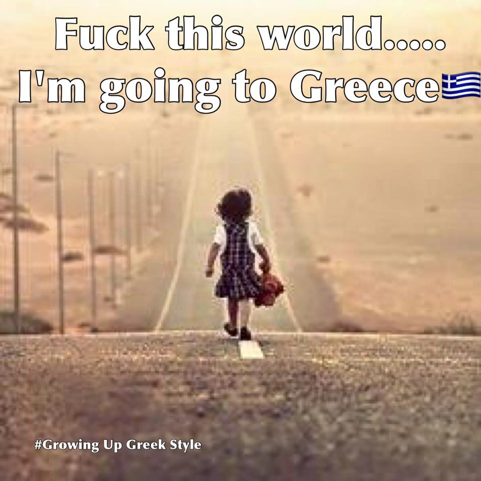 Going to Greece